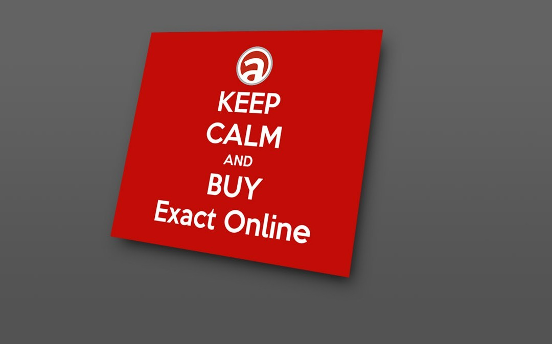 Keep calm and buy Exact Online
