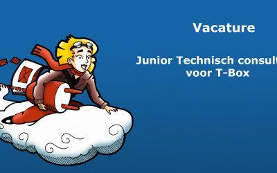 Vacature: Junior technisch consultant T-Box
