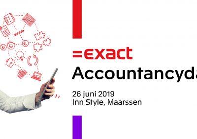 Exact Accountancydag op 26 juni